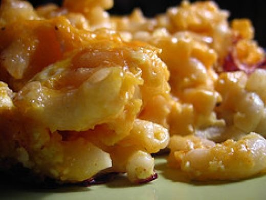 Macaroni n cheese with a twist
