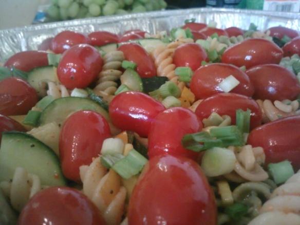 9 veggie pasta