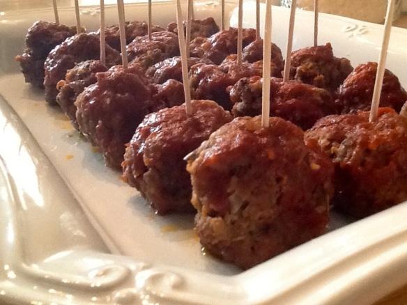 Smacking good meatballs