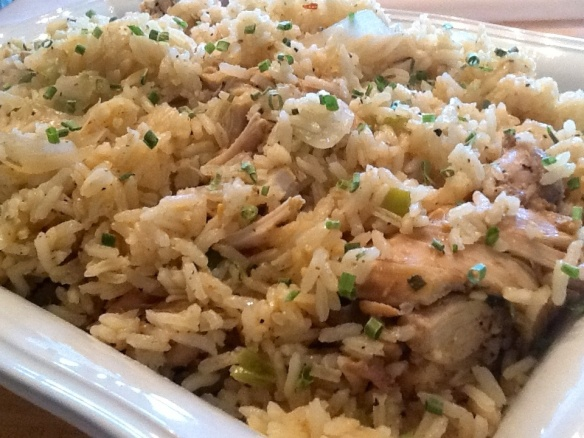 Island chicken and rice