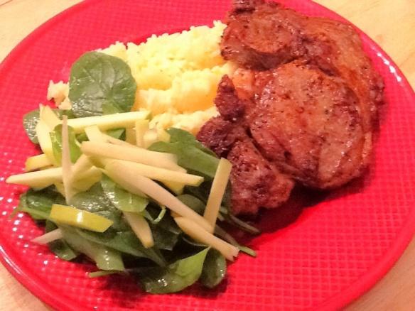 Savory dinner