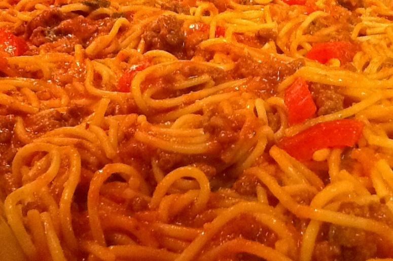 Amazing spaghetti