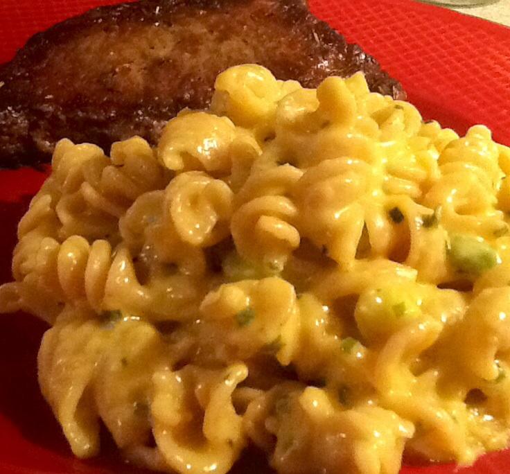 No bake macaroni and cheese