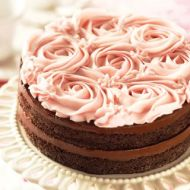 Chesapeake Rose Cake