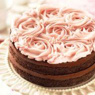 Chesapeake Rose Cake