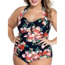 DL Plus Floral Swimwear