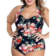 DL Plus Floral Swimwear